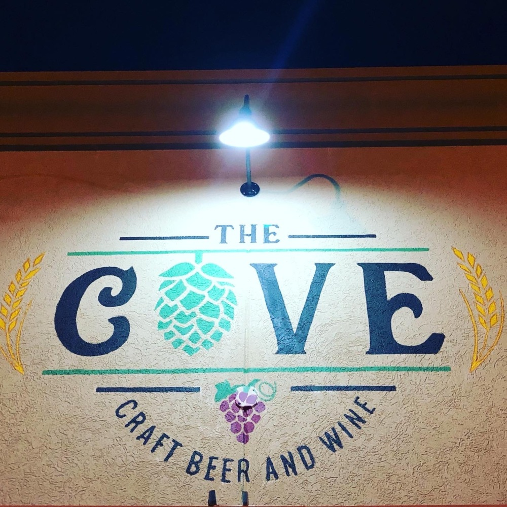 The Cove Outdoor Sign